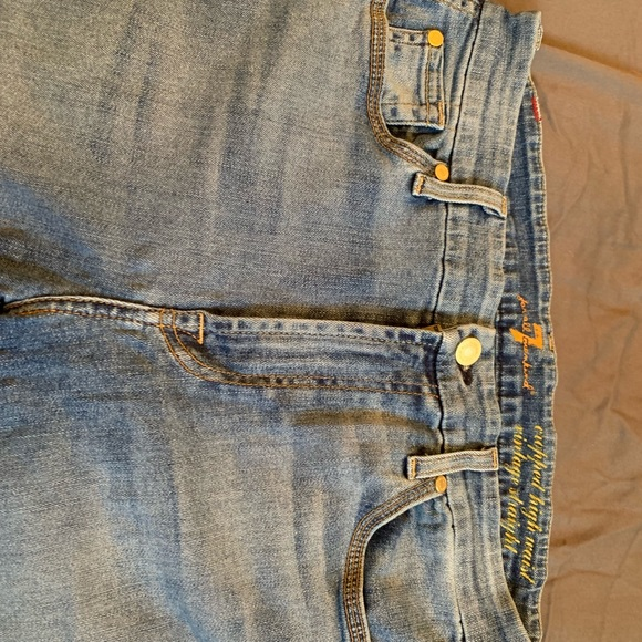 7 For All Mankind Denim - 7 FAM ankle length jeans size 30